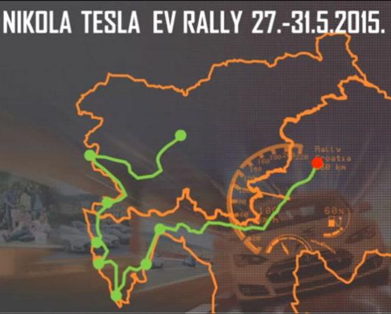 Nikola Tesla EV Rally 2015 – animated presentation