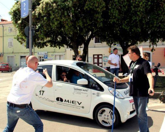 NIkola Tesla EV RALLY: Slovenija, Italija, Croatia 2015