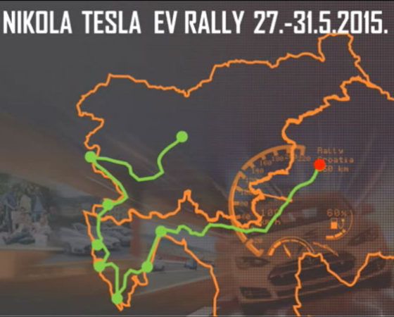 Nikola Tesla EV Rally 2015 – animated presentation