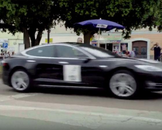 Nikola Tesla EV Rally 2016, Croatia – Skill exam Poreč