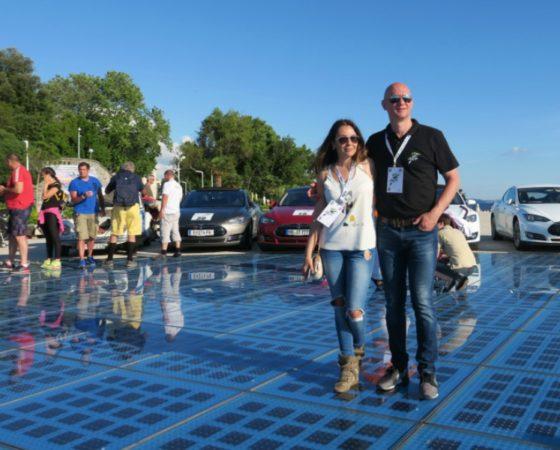 Tina Kolovrat sa suprugom osmislila projekt najljepšeg i najtišeg relija na svijetu Nikola Tesla EV Croatia